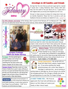 February2014NewsletterPAGE1