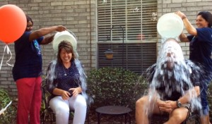 Ice Bucket Challenge supporting ALS...
