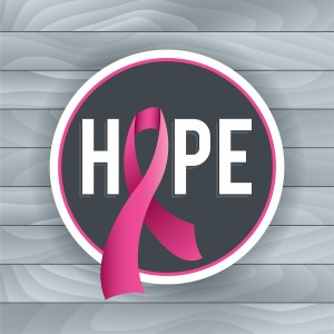 Breast Cancer Awareness Hope Theme Illustration