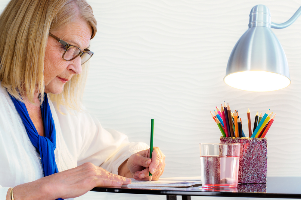Surprising Benefits of Coloring Books for Older Adults