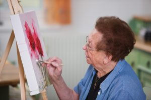 Art Therapy Techniques for Dementia Patients, The Woodlands, TX, Unlimited Care Cottages