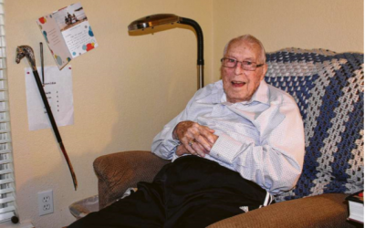 The Courier of Montgomery County Features Unlimited Care Cottage Veteran