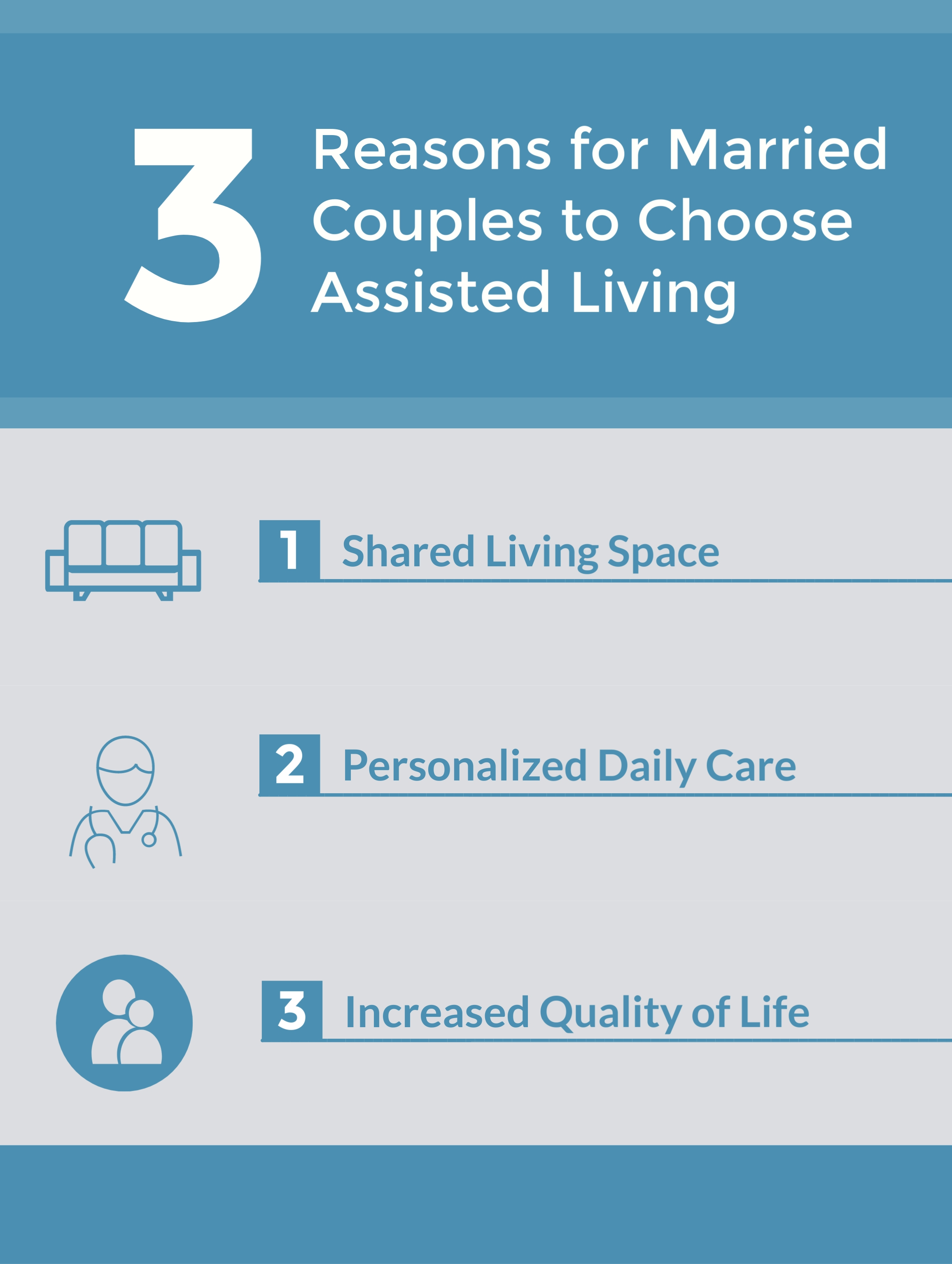 3 Reasons for Married Couples to Choose Assisted Living, Spring, TX