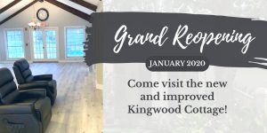 New and Improved Kingwood Cottage: Reopening January 2020, Unlimited Care Cottages, Kingwood TX