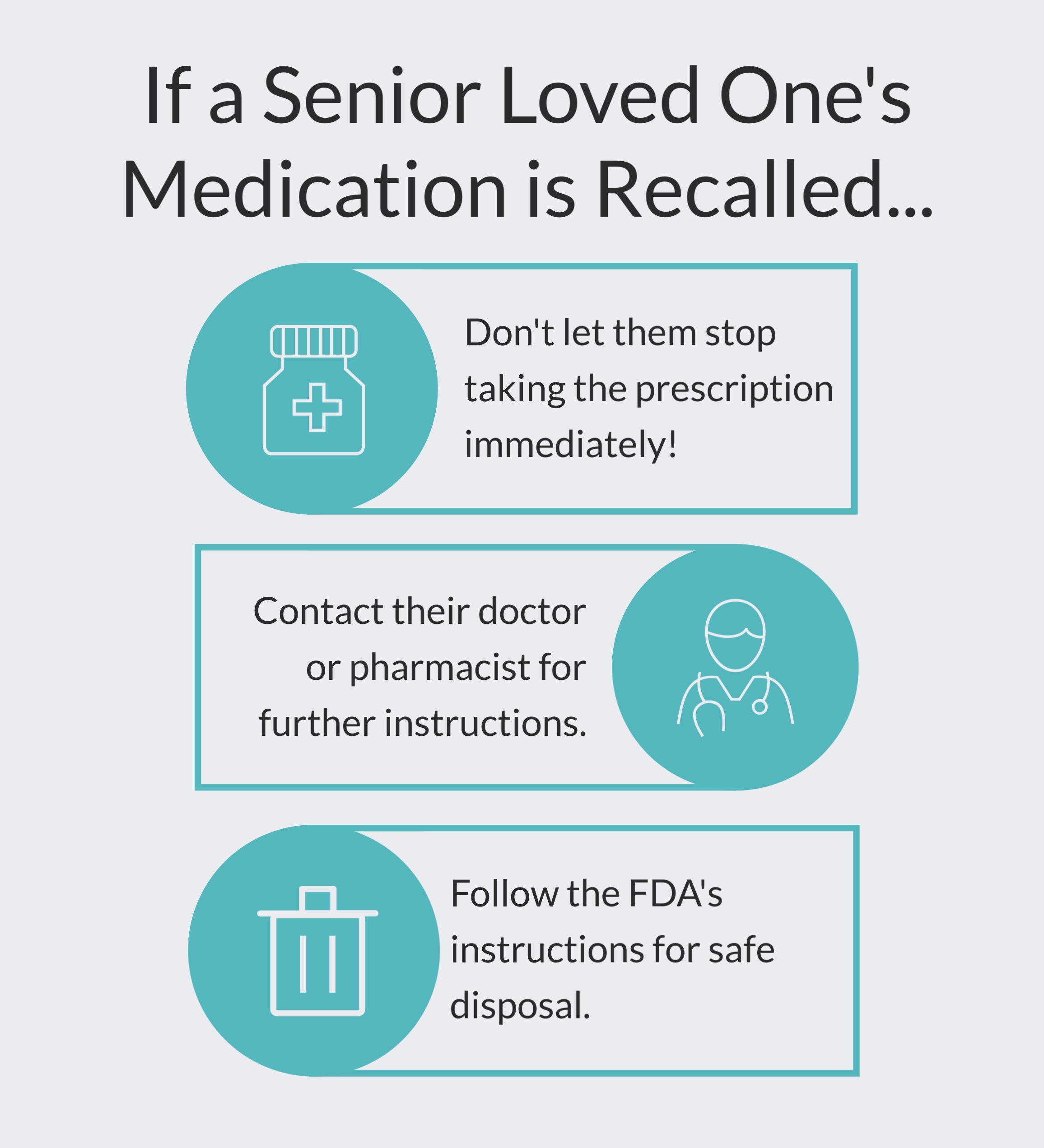 What to Do if Your Family Member's Medication is Recalled, Unlimited Care Cottages, Spring, TX