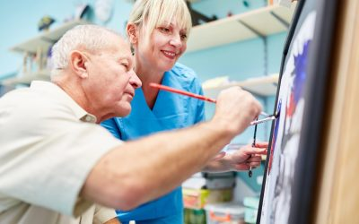 Finding Creative Joy with Art Therapy for Seniors
